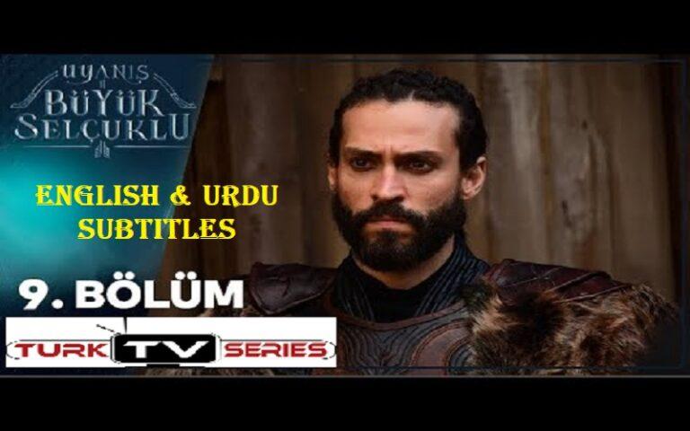 Uyanis Buyuk Selcuklu Episode 9 English & Urdu Subtitles