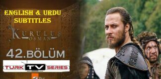 Kurulus Osman Episode 42 English & Urdu Subtitles Free of Cost