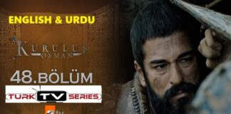 Kurulus Osman Episode 48 English & Urdu Subtitles Free of Cost