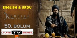 Kurulus Osman Episode 50 English & Urdu Subtitles Free of Cost