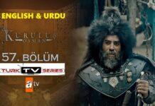 Kurulus Osman Episode 57 English & Urdu Subtitles Free of Cost