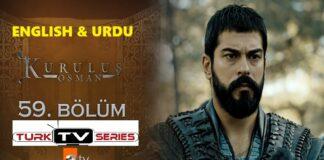 Kurulus Osman Episode 59 English & Urdu Subtitles Free of Cost