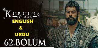 Kurulus Osman Episode 62 English & Urdu Subtitles Free of Cost